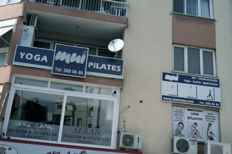 You mean I have to practice, here?! - Bornova, Izmir, 2014.